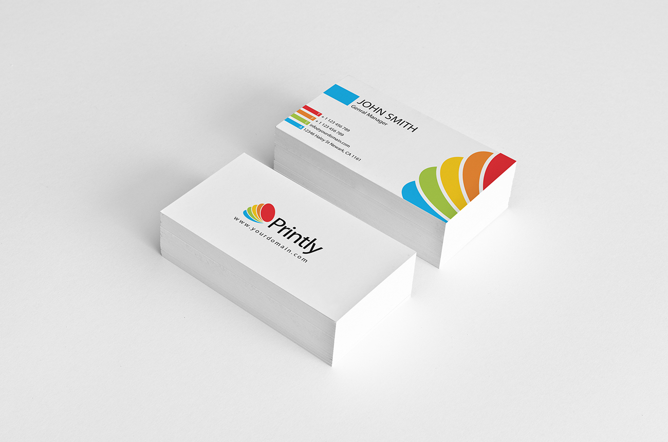 Printly Corporate Identity business card