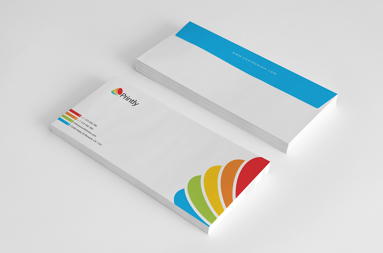Printly Corporate Identity envelope