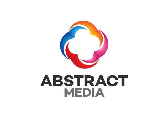 abstract media logo