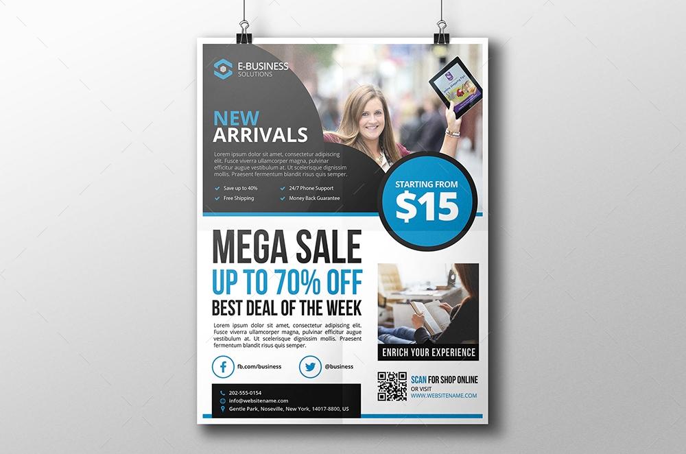 ecommerce flyer