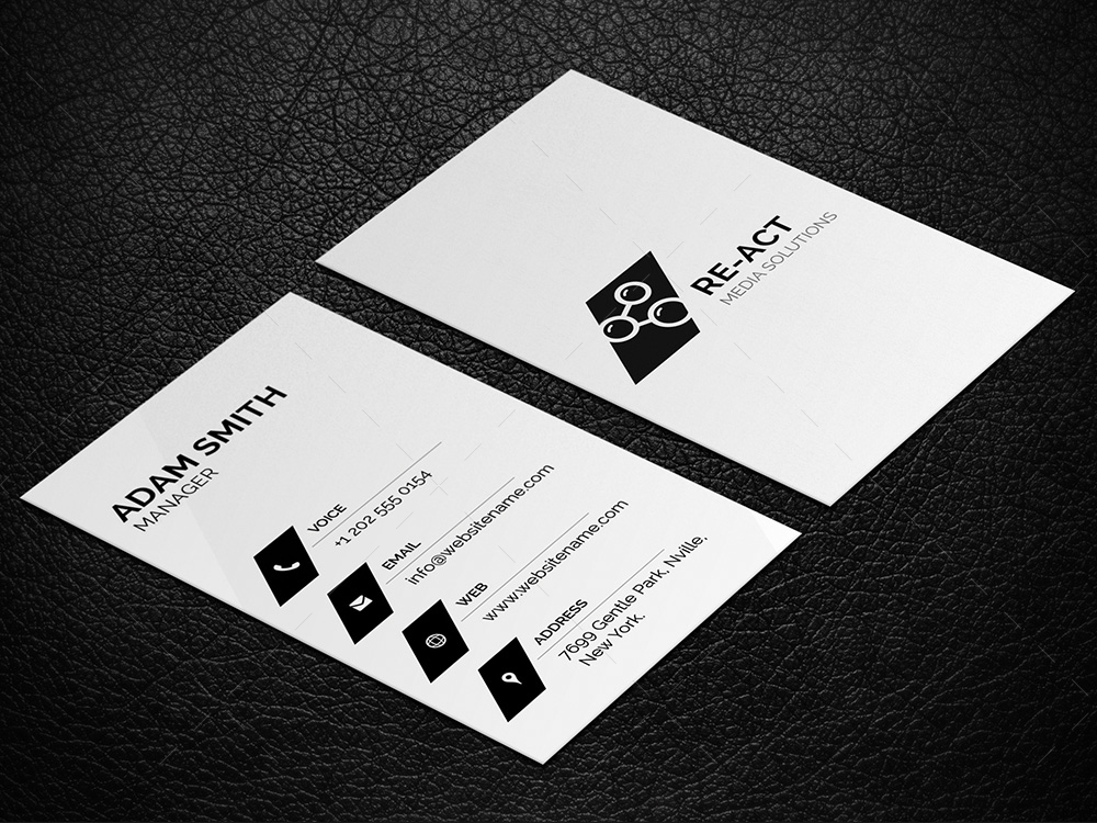 minimal business card 1