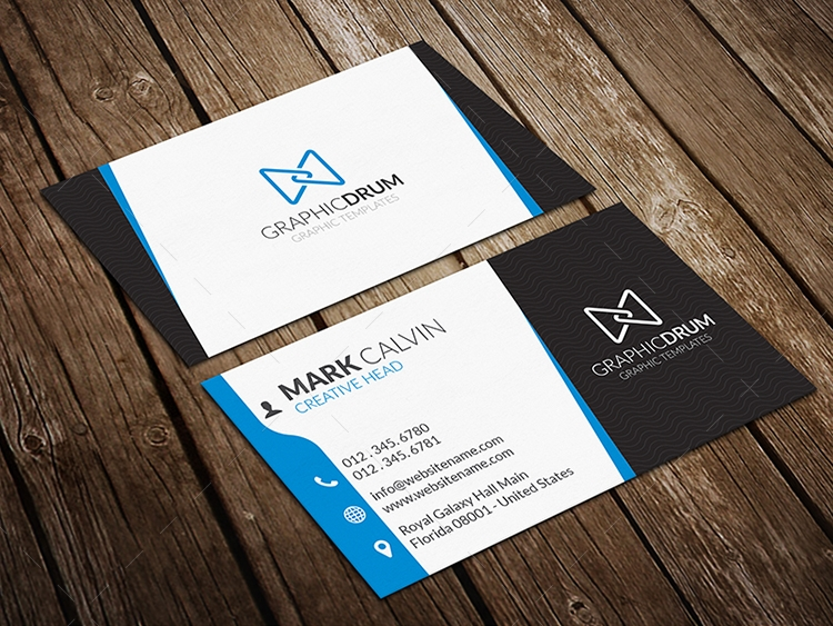 Free creative business card free business card design reheart Image collections