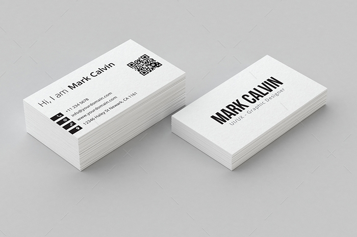 minimal business card 14