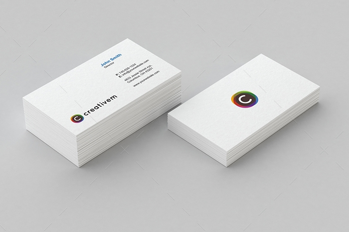 minimal business card 15