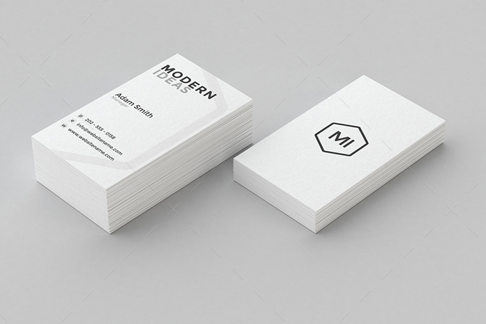 minimal business card 16