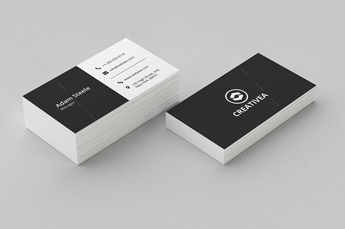 minimal business card 17