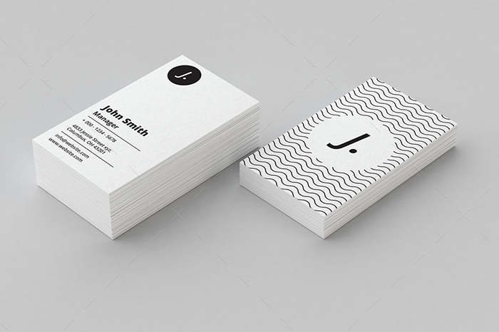 minimal business card 18