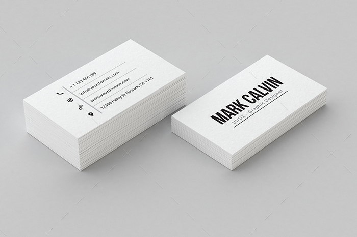 minimal business card 19