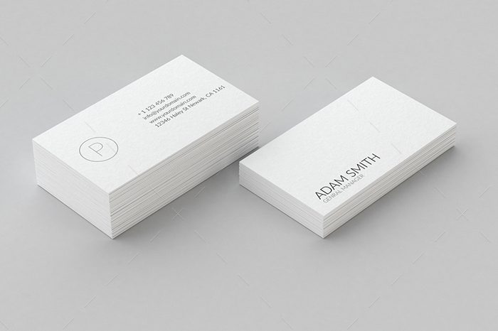 minimal business card 20