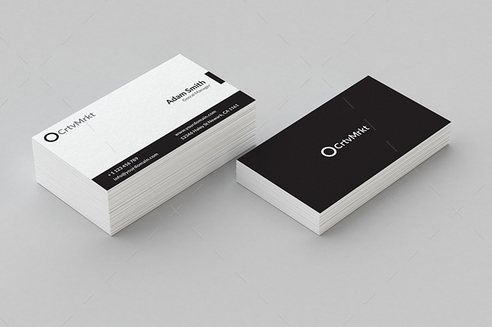 minimal business card 21