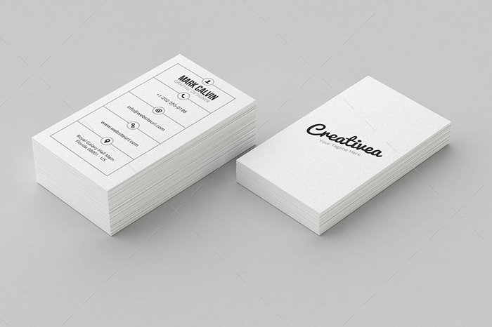 minimal business card 4