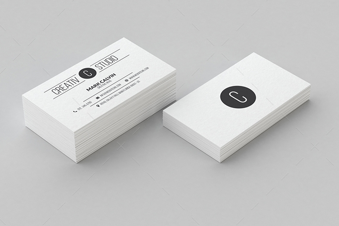 minimal business card 5