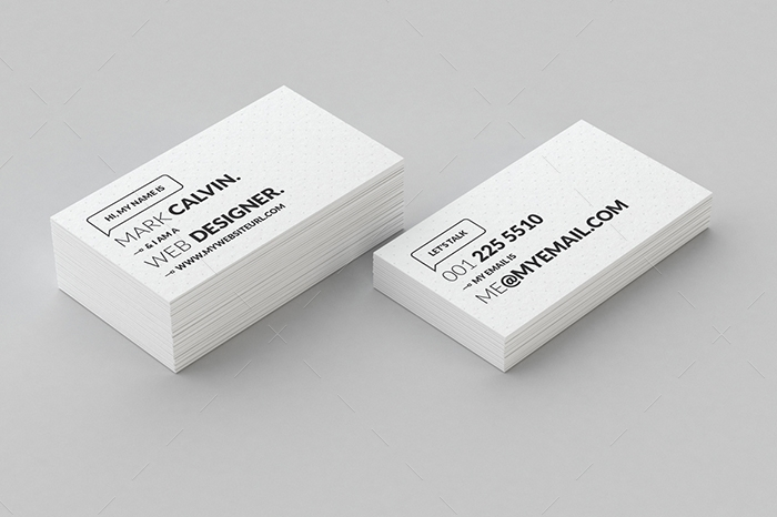 minimal business card 6