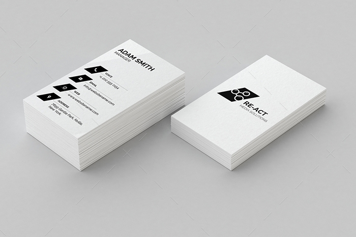 minimal business card 9
