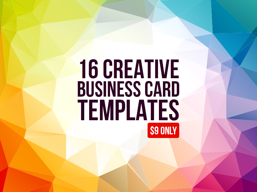 16 creative business card templates graphic pick 16 creative business card templates wajeb