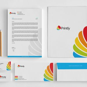 Printly Corporate Stationery Design Set