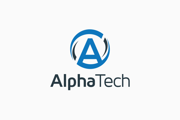 alpha-tech-letter-a-logo