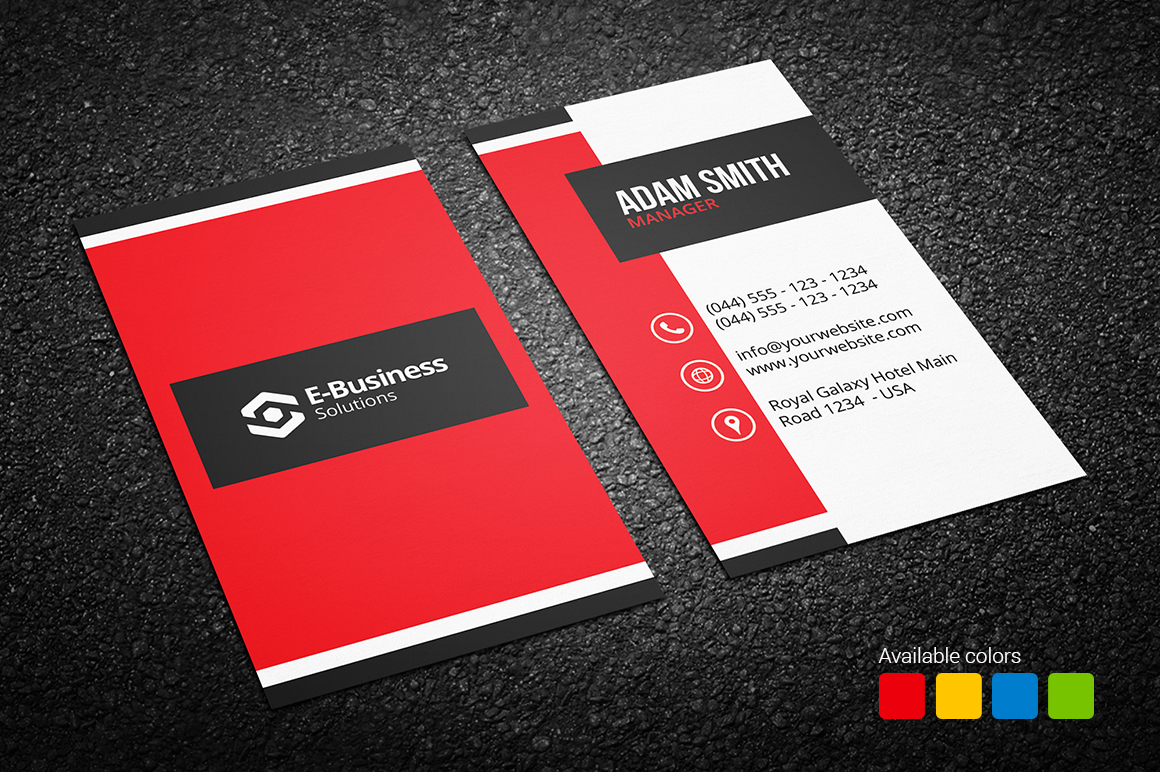 Creative Business Card 16 - Graphic Pick