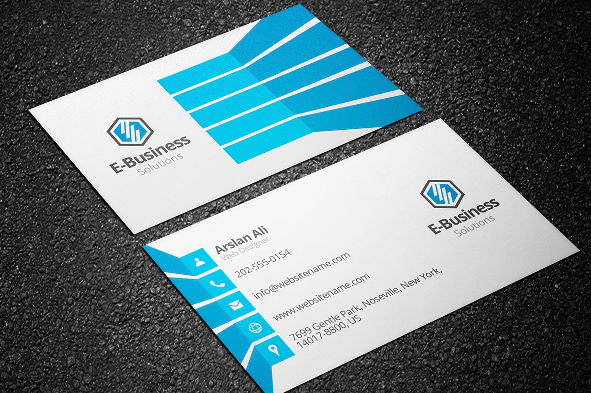 Creative Business Card 04 - Graphic Pick