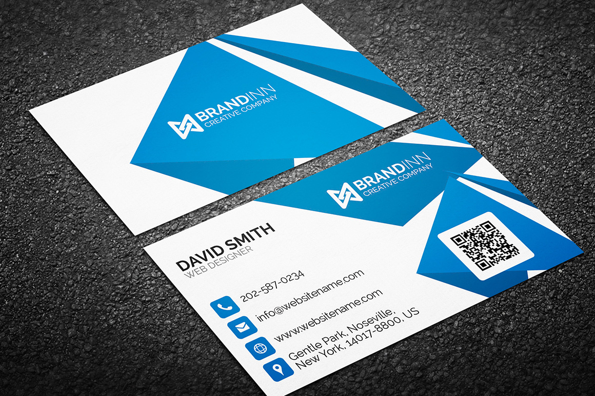 Creative Corporate Business Card 05 - Graphic Pick