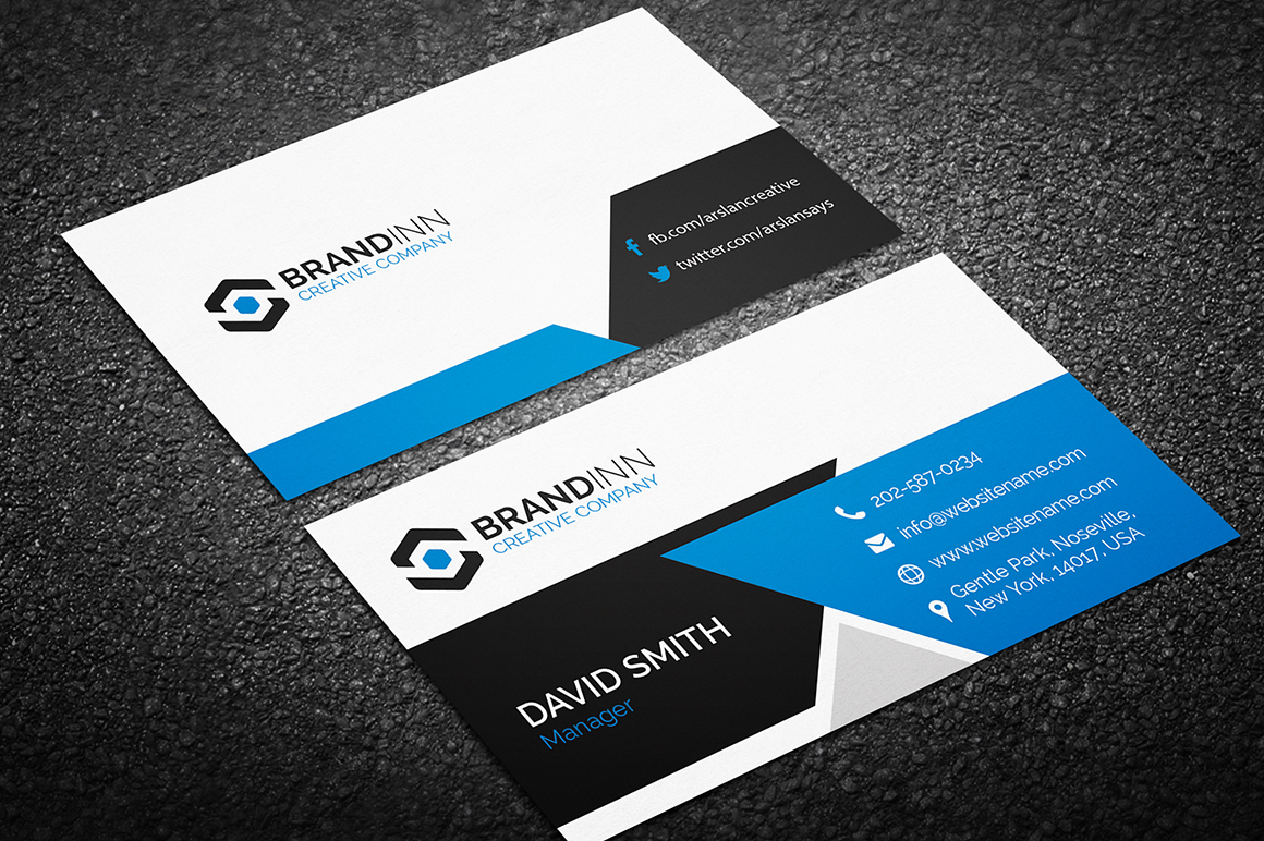 Creative business card 14 graphic pick for Busniess card template