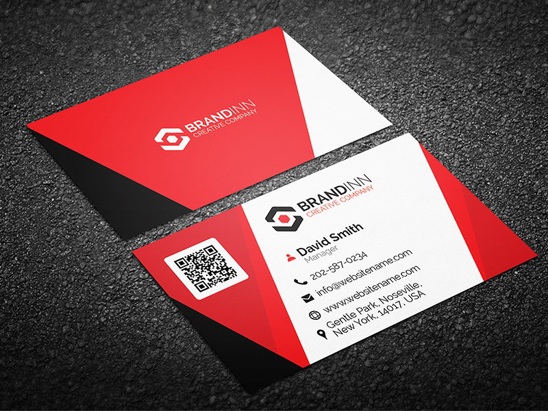 Creative Corporate Business Card 10 - Graphic Pick