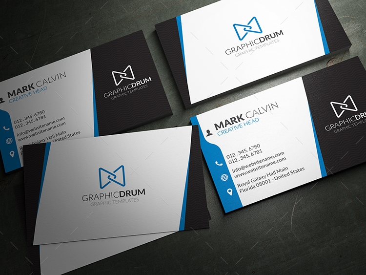 Free creative business card reheart Image collections