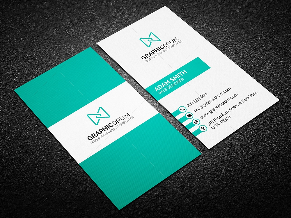Free creative business card graphic pick free creative business card reheart Images