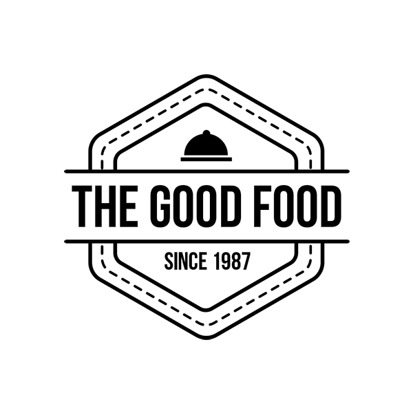6 Food Logos Retro Badges Labels