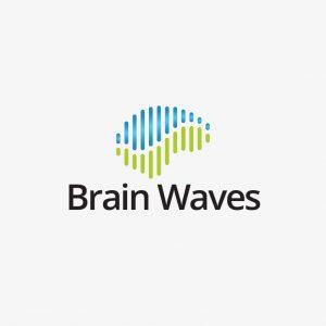 Brain Tech Waves Logo