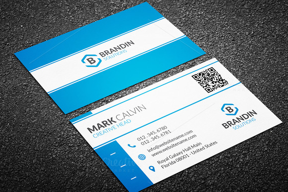 Business Card Photoshop Template Psd