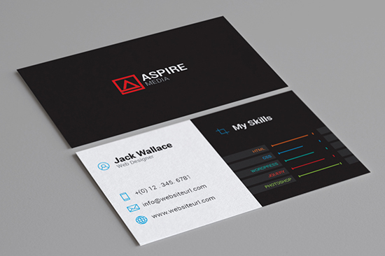 creative business card for individual 94