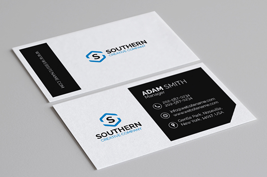 creative corporate business card 19-1