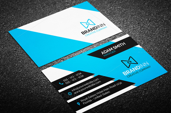 Creative Business Card Bundle 50 in 1 - Graphic Pick