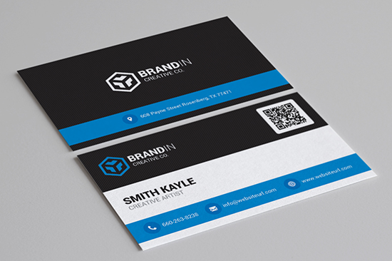 creative corporate business card 60