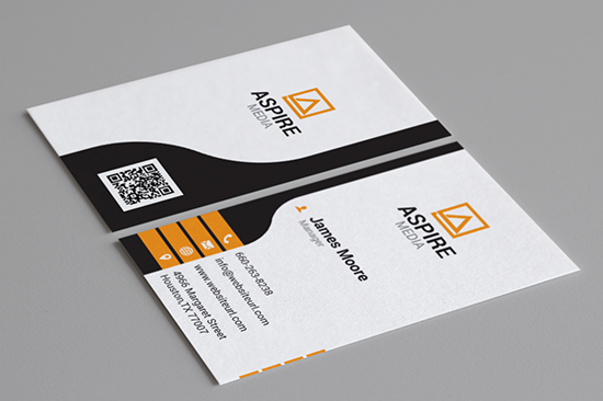 creative corporate business card 88