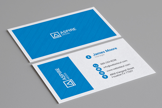creative corporate business card 89