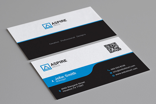 creative corporate business card 93