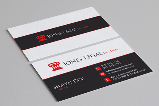 law business card 27