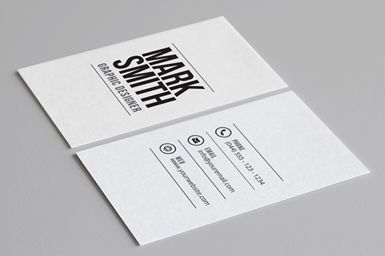 minimal business card 28