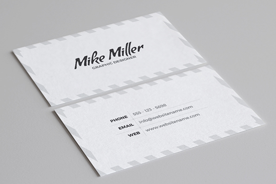 minimal business card 38