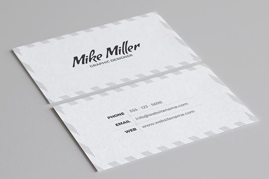 minimal business card 38