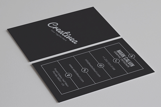 minimal business card 46-1