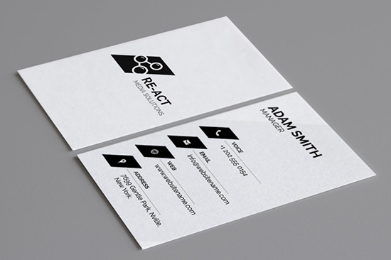 minimal business card 6-1