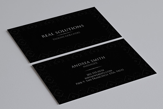 minimal business card 8-1