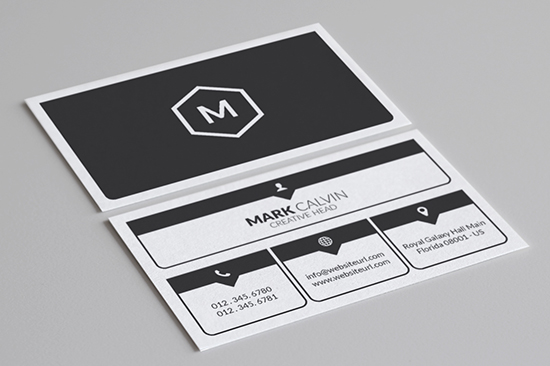 minimal business card template 45-1
