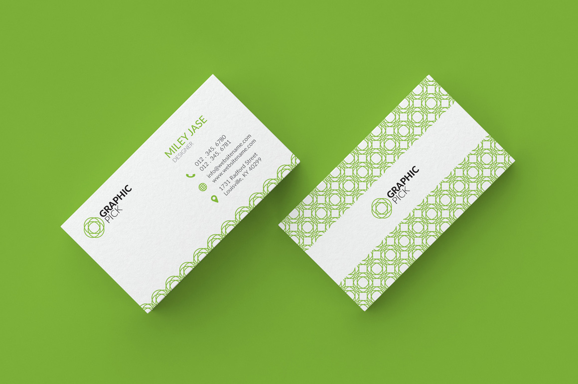 9 Simple Minimal Business Cards - Graphic Pick