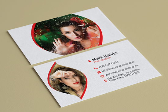 photography business card 13-1