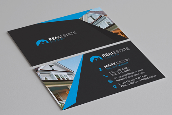 8 Real Estate Business Cards - Graphic Pick