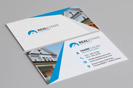 real estate business card 30